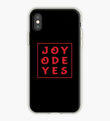 Joy Ode Yes – Red iPhone Case