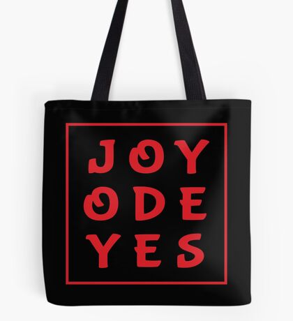 Joy Ode Yes – Red Tote Bag