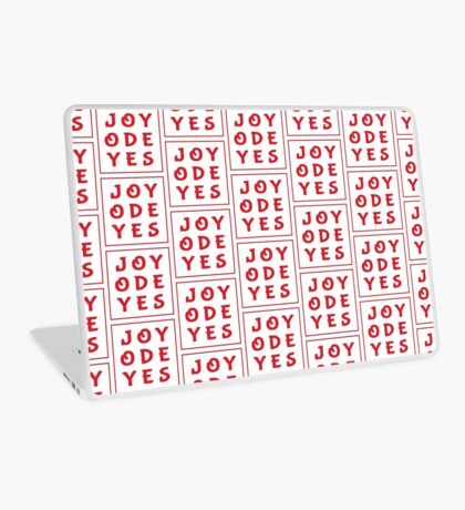 Joy Ode Yes – Red Laptop Skin