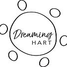 Dreaming Hart logo in black (square) by DreamingHart