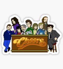 Cheers Crew Sticker