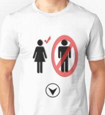 no men T-Shirt