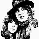 4th Doctor and Sarah-Jane by kerravonsen
