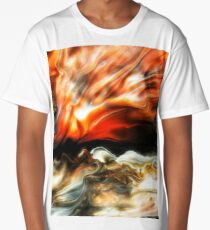 Burnt Horizon  Long T-Shirt