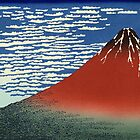 Fine Wind, Clear Morning / Red Fuji   Japan by vintagetravel