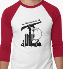 Hezbollah Men's Baseball ¾ T-Shirt
