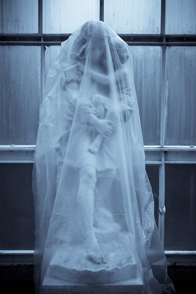 Blue Antique Ghosts by redkite