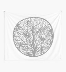 Tree of People Life Wall Tapestry