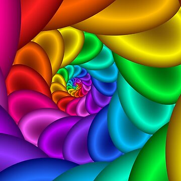 Rainbow Spiral by pinkal