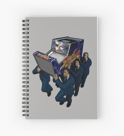 Game Over Ceremony Spiral Notebook