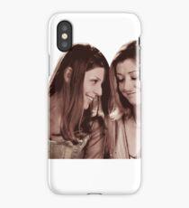 Willow & Tara - Sepia Under Your Spell, Buffy the Vampire Slayer, BtVS, 90s, Joss Whedon, Sunnydale, LGBTQ, Gay Pride, Tara Maclay, Willow Rosenberg iPhone Case