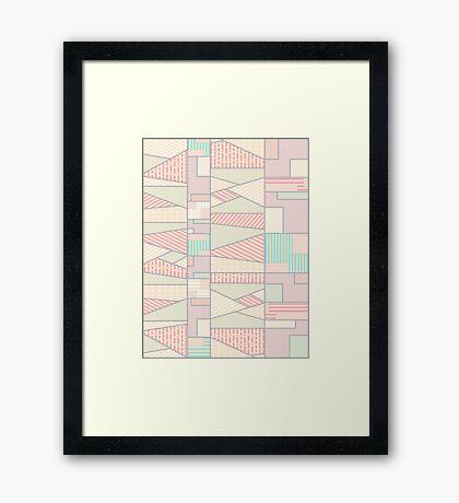 Soft Abstract #redbubble #buyart Framed Print