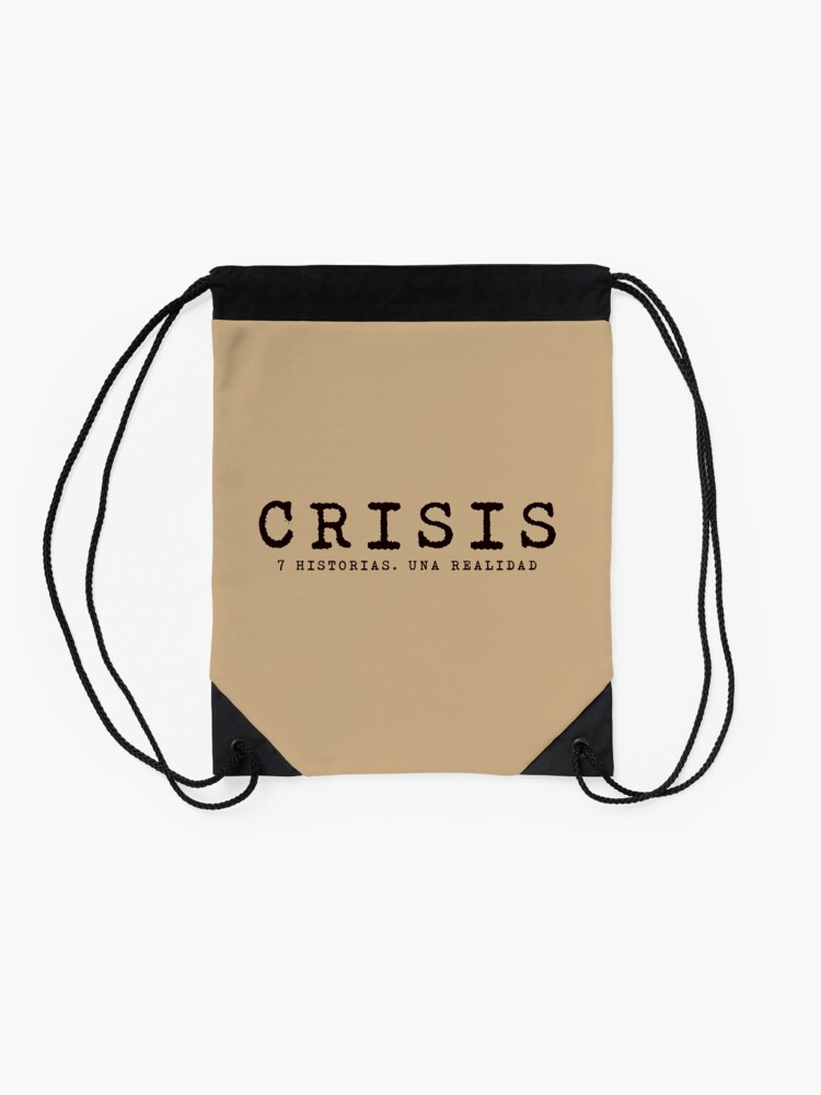 Vista alternativa de Mochila de cuerdas Logo CRISIS
