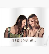 Willow & Tara - I'm Under Your Spell, Buffy the Vampire Slayer, BtVS, 90s, Joss Whedon, Sunnydale, LGBTQ, Gay Pride, Tara Maclay, Willow Rosenberg, Once More With Feeling Poster