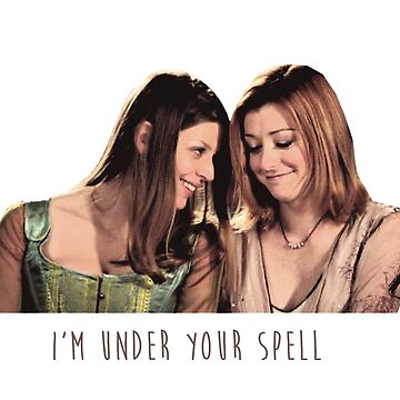 Willow & Tara - I'm Under Your Spell, Buffy the Vampire Slayer, BtVS, 90s, Joss Whedon, Sunnydale, LGBTQ, Gay Pride, Tara Maclay, Willow Rosenberg, Once More With Feeling by earthengoods