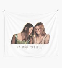 Willow & Tara - I'm Under Your Spell, Buffy the Vampire Slayer, BtVS, 90s, Joss Whedon, Sunnydale, LGBTQ, Gay Pride, Tara Maclay, Willow Rosenberg, Once More With Feeling Wall Tapestry