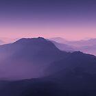 Misty Peaks by Ann Garrett