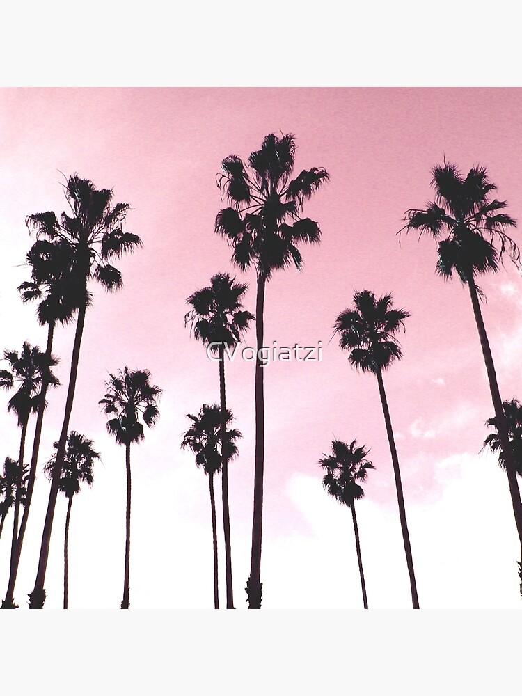 Palms & Sunset by CVogiatzi