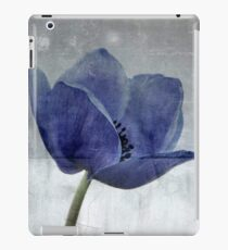 Blue Poppy iPad Case/Skin