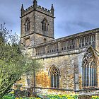 St Mary's in March by Viv Thompson
