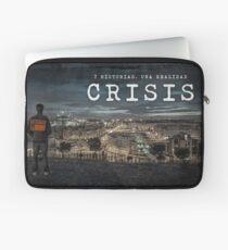 CRISIS Teaser Poster (Versión Ciudad) Funda para portátil