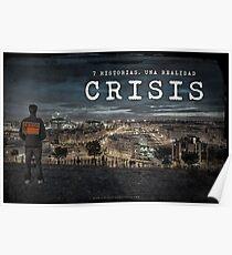 CRISIS Teaser Poster (Versión Ciudad) Póster