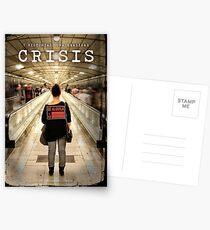 CRISIS Teaser Poster (Versión Metro) Postales