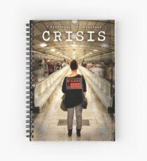 CRISIS Teaser Poster (Versión Metro) Cuaderno de espiral