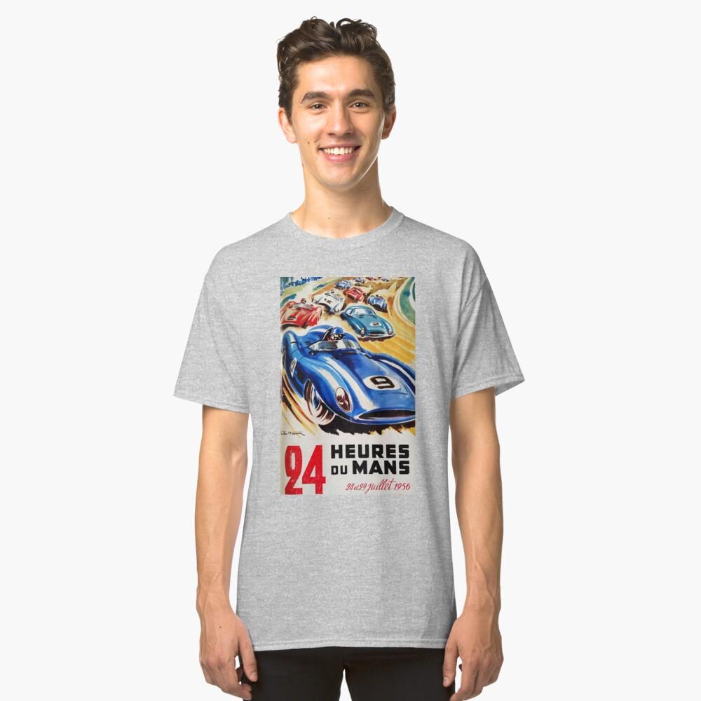 Le Mans Poster, Le Mans T-Shirt, 1956, Vintage Poster, Le Mans Aufkleber Classic T-Shirt