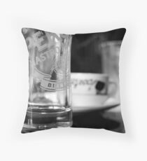 Cafe Life Throw Pillow