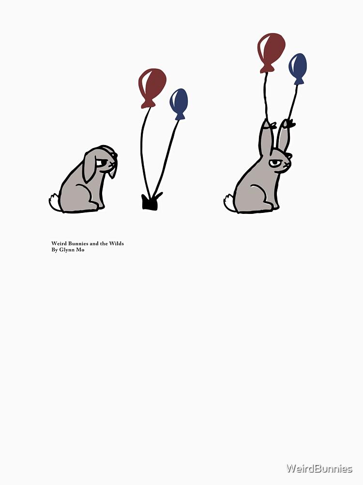 Balloon Bunny by WeirdBunnies