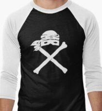 dread pirate jolly roger 2 Men's Baseball ¾ T-Shirt