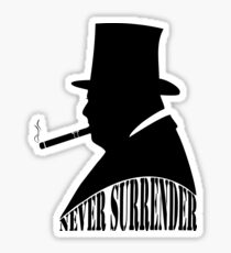Winston Churchill Sticker