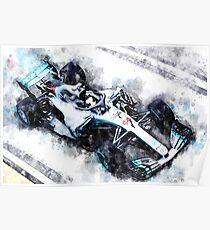 Lewis Hamilton 2018 Poster