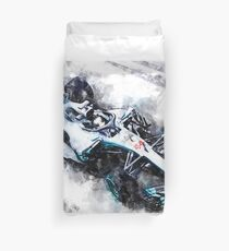 Lewis Hamilton 2018 Duvet Cover