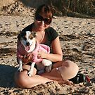 22. Belinda & her Jack Russell Terrior by Cathie Brooker