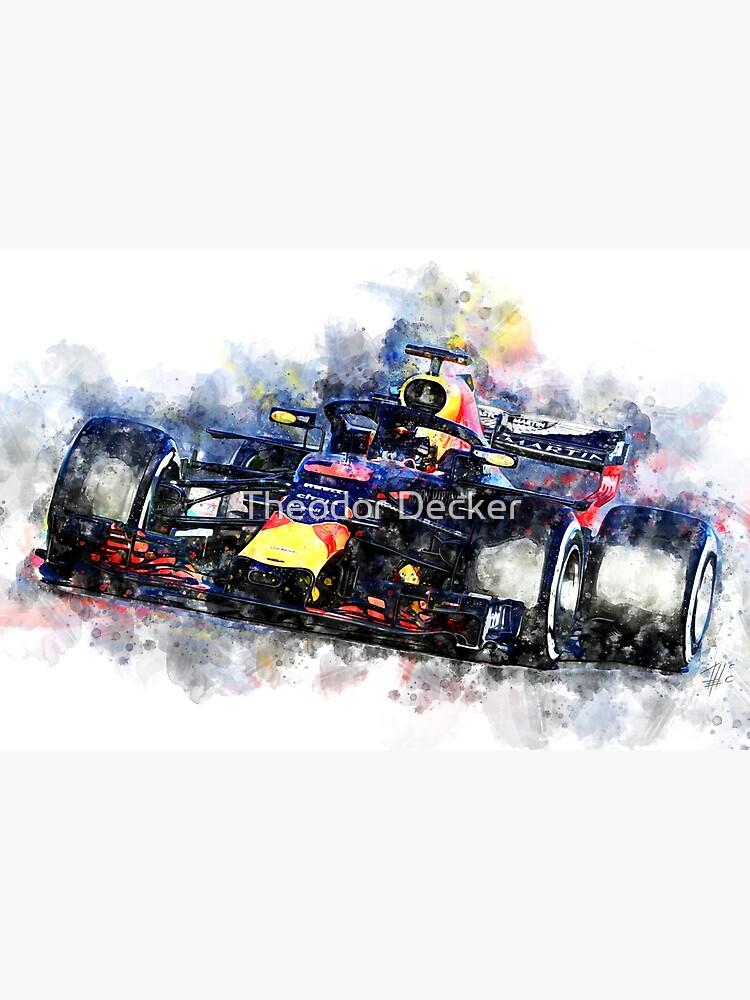 Daniel Ricciardo F1 2018 von theodordecker