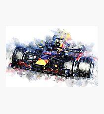 Daniel Ricciardo F1 2018 Photographic Print
