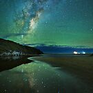 Harriet River Galaxy Reflections by pablosvista2