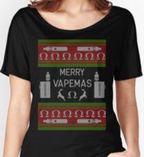 Vape Merry Christmas Vapemas Xmas Vaper Vaping Women's Relaxed Fit T-Shirt