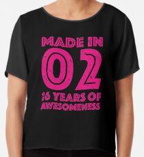 16th Birthday Gift Teens Age 16 Year Old Girl Girls Chiffon Top