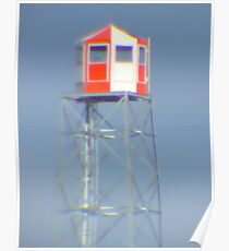 Fire Lookout Tower Poster