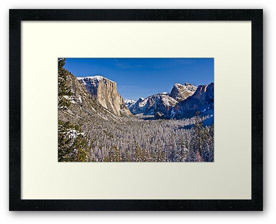 Yosemite Valley Winter by photosbyflood