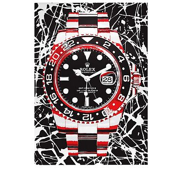 Rolex GMT-Master Red Art by NiceDesigning