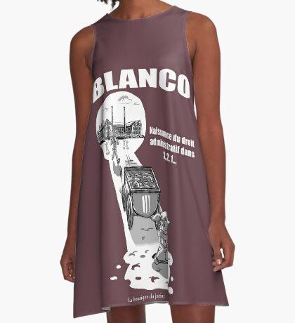 Blanco Robe trapèze