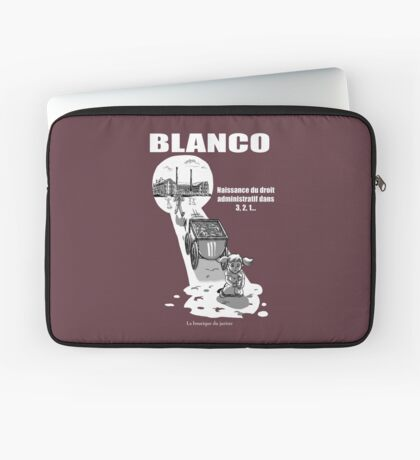 Blanco Housse de laptop