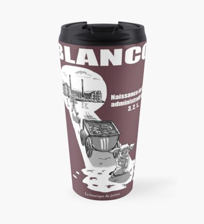 Blanco Mug de voyage