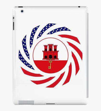 Gibraltarian American Multinational Patriot Flag Series iPad Case/Skin
