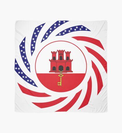 Gibraltarian American Multinational Patriot Flag Series Scarf