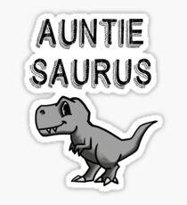 Auntie Saurus Sticker